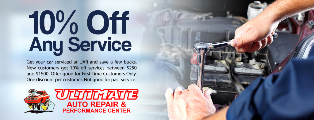 10% Off for New Customers at Ultimate Auto Repair